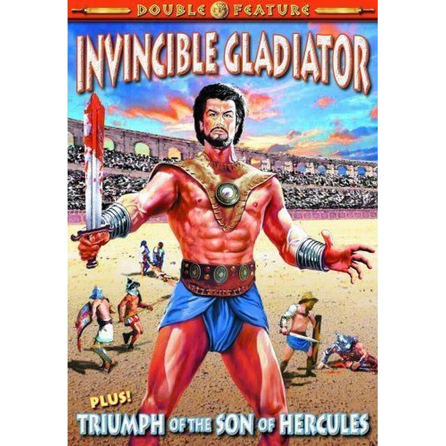 Gladiator Double Feature: Invincible Gladiator/Triumph of the Son of Hercules [DVD] [1963] [Region 1] [US Import] [NTSC]